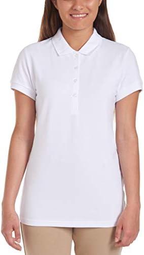 Chaps Junior's Uniform Short Sleeve Stretch Pique Polo