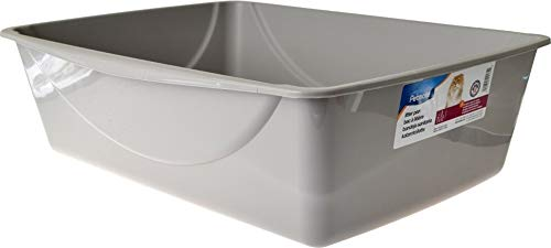 Petmate Litter Pan, Blue Mesa/Mouse Grey, Jumbo