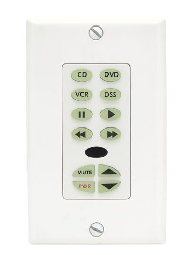 - Speakercraft MKP 11 Master Keypad, White, With IR Receiver Control Unit , 12 Programmable Buttons, IR Receiver Included,