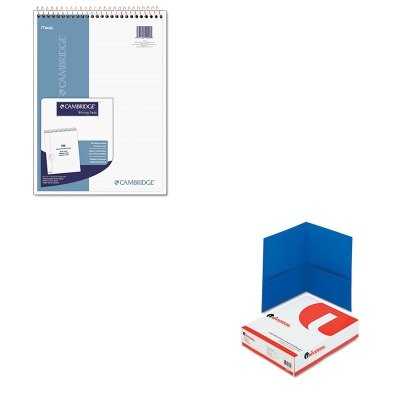 KITMEA59006UNV56601 - Value Kit - Mead Wirebound Numbered Legal Pad (MEA59006) and Universal Two-Pocket Portfolio (Wirebound Numbered Legal Pad)