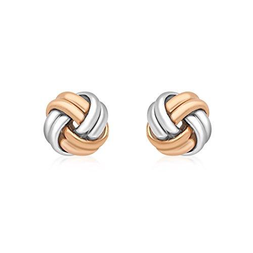 Carissima Gold - Boucles d'oreilles - (375/1000) - Or bicolore - Femme