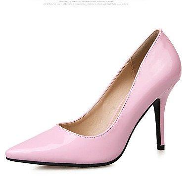 Amande 7 à Arrière black Femme Cuir Décontracté Rose 5 Talons Bride Arrière Chaussures à 9 Noir Printemps A Bride cm LvYuan A ggx 5 aWgnA0f