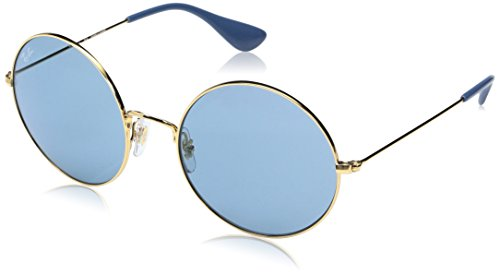 Ray-Ban Women's Metal Woman Round Sunglasses, Shiny Copper, 55 - Colored Lenses Ban Aviators Ray