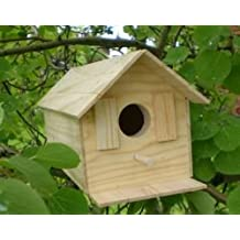 Wood Bird House Kit Complete With Nails