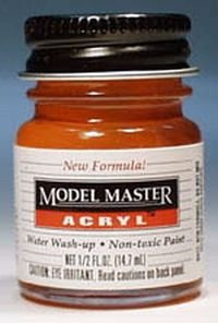 Testors Model Master Acrylic Gloss International Orange FS12197 (Model Master Gloss)
