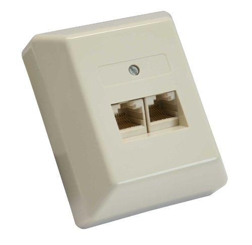InLine 69988B Beige caja de tomacorriente - Caja registradora