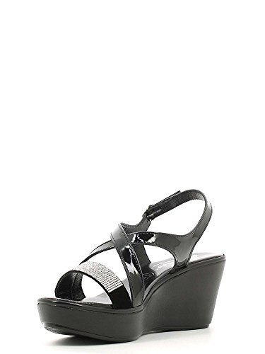 Susimoda 243640 Wedge Sandals Women Black j0LOF