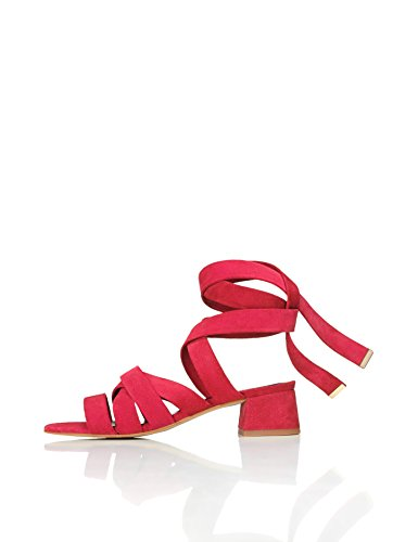 FIND Molly Sandales Femme Rouge (Red) IlD98Fd