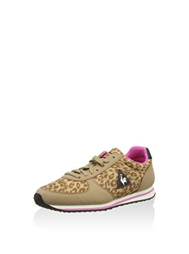 Le Coq Sportif Bolivar W Animal Print Damen Sneakers  Taupe