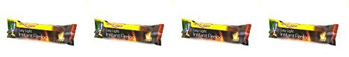 Holland Plastics Original Brand 4 X Bar Be Quick Firelogs Suitable For Open Fires Wood Burning Stoves Chimneas Firepits And Smokeless Zones by Holland Plastics Original Brand