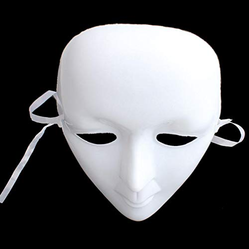 Masquerade Party - Halloween Masquerade Party Diy Scary Mime Mask Ball Full Face Cosplay Costume Masks Decorations E5m1 - Outfits Cape Photo Lights Venetian Attire Women Outfit Adults Napkins ()