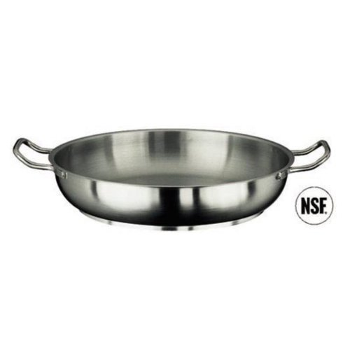 Paderno Stainless Steel 9.5 Inch Paella Pan by Paderno