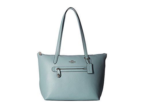COACH Women's Taylor Tote Sv/Light Turquoise One Size