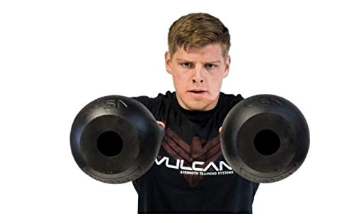 - Vulcan Strength Training Systems Absolute Kettlebell with Black Powder Coated Handle