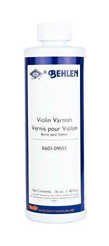 Spirit Varnish (Behlen B603-09055 Varnish, 1 Pint, Clear)