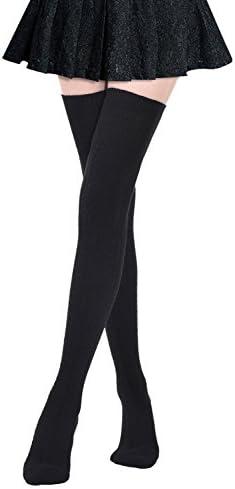 Kayhoma Extra Long Cotton Thigh High