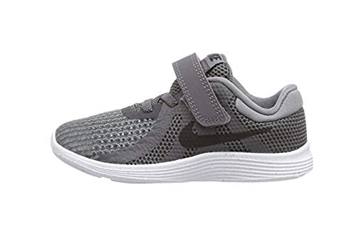 Nike Boys' Revolution 4 (TDV) Running Shoe, Dark Grey/Black - Cool Grey - White, 6C Regular US Toddler