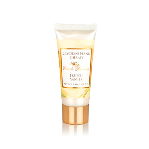 Glycerine Hand Creme (Camille Beckman Glycerine Hand Therapy, French Vanilla, 1.35 Ounce)