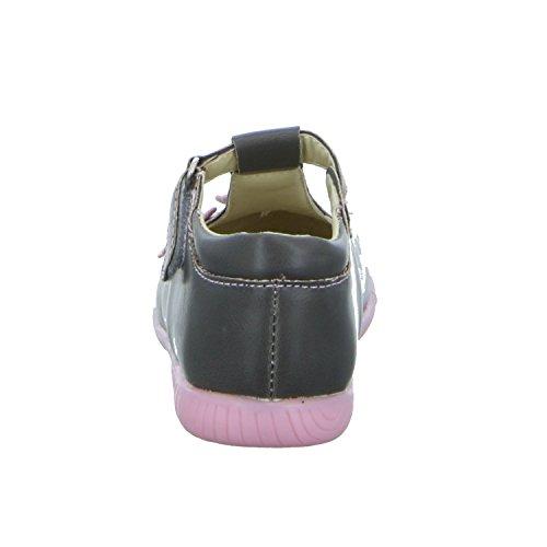 Tortuga GS115-034 Mädchen Babyschuhe Kaltfutter Grau (Grau)