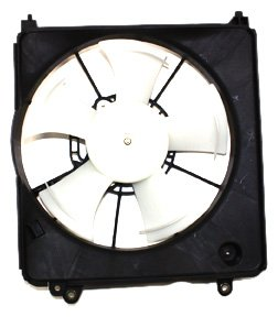 TYC 601210 Honda Fit Replacement Radiator Cooling Fan Assembly