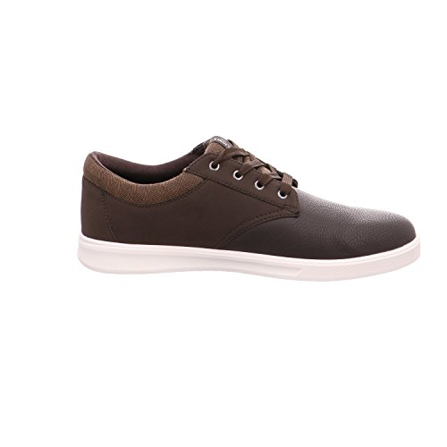 JACK & JONES Jfwgaston Pu Mix Java, Zapatillas para Hombre Marrón (Java)