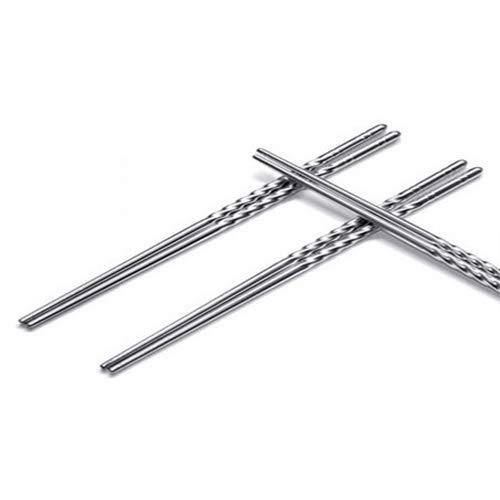 Amazon.com: Palillos de cocina de acero inoxidable de estilo ...