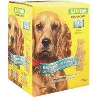 Pet Life Oven Baked Milk Bone Biscuit Box, 4 Lb
