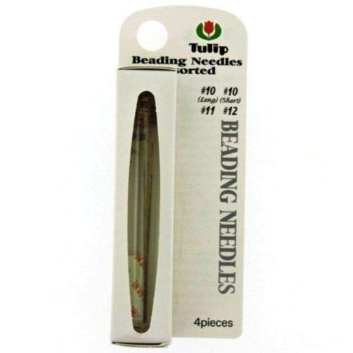 Tulip Beading Needles Assortment- 4 Needles - Size 10L, 10S, 11 & 12 ()