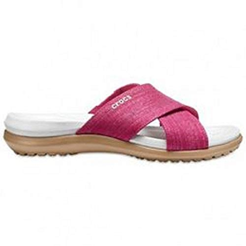 oyster Capri Xband Paradise Pink Shimmer Women Ouvert Femme Crocs Bout Sandal SvUwwq