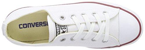 Converse As Dainty Ox - Zapatillas bajas para mujer Blanco (Blanc/Rouge)