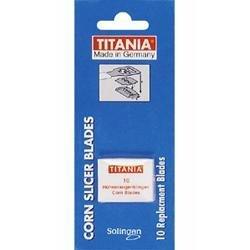 Titania Corn Slicer Blades - 10 (Titania Foot)