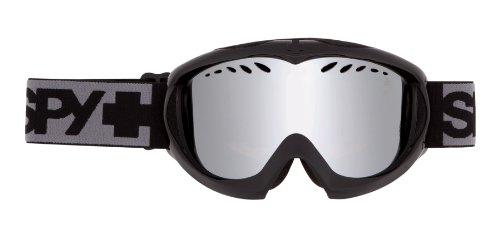 (Spy Optic Targa Mini Goggle (Black, Bronze with Silver Mirror))