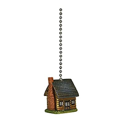 Rivers Edge Products Log Cabin Fan Pull