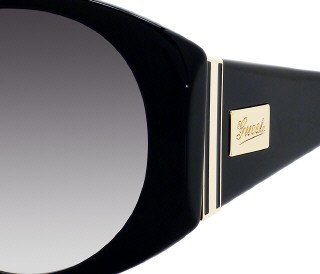 Gucci 3078/S Sunglasses - Black/White Floral w/ Grey Gradient - Gucci For Sunglasses Cheap