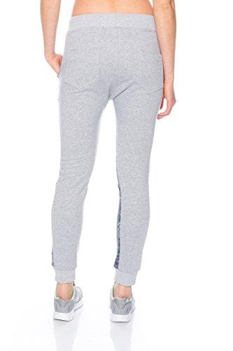 Fashion Flash - Pantalón - Pantalones - para mujer gris