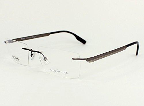 Hugo Boss eyeglasses BOSS 0435 ASY Metal - Rimless Hugo Boss Glasses
