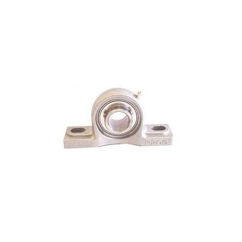 Big Bearing SSUCP207-23 Pillow Block Bearing, 1-7/16'' Shaft Size, 6.57'' Length, 3.62'' Height, 1.89'' Width, Stainless Steel