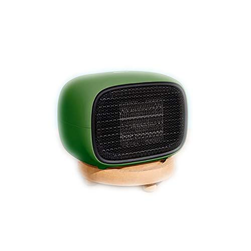 Cheap GYFAA Warm Safety Heater PTC Ceramic Mini Convection Electric Fireplace Small Desktop Personal Portable Durable for Home and Office-Green 11.4cm(4inch) Black Friday & Cyber Monday 2019
