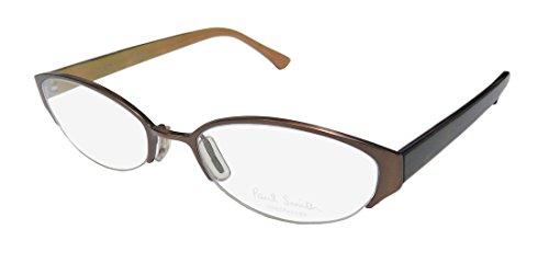 s/Ladies Cat Eye Half-rim Eyeglasses/Glasses (52-18-145, Brown / Tortoise) (196 Eyeglasses)