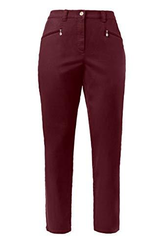 64 Pantalon Ulla Mony Bordeaux 83 Chino Popken Femme Droite 624655 66 Grandes Tailles Coupe Ajustée IFSf6xF