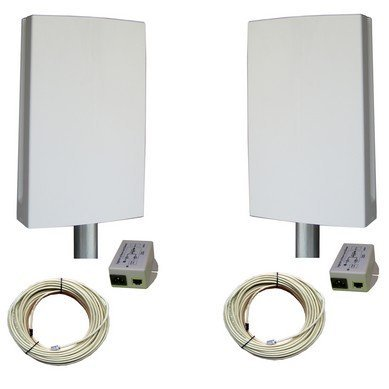The EZ-Bridge EZBR-0214HD+ HD 2.4GHz Outdoor Wireless Point to Point System by e-zy.net