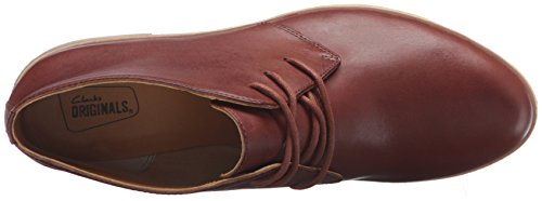 Clarks Phenia Carnaby Boot Tan Leather