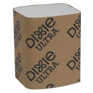 Dixie Ultra Interfold Napkin Refills Two-Ply, 6 1/2'' X 9 7/8'', White, 6000/Carton