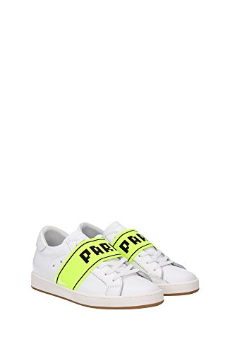 SILDVS03 Philippe Model Sneakers Mujer Piel Blanco Blanco