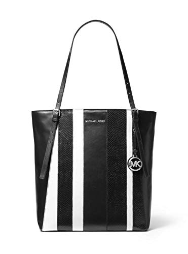 Michael Kors black leather tote
