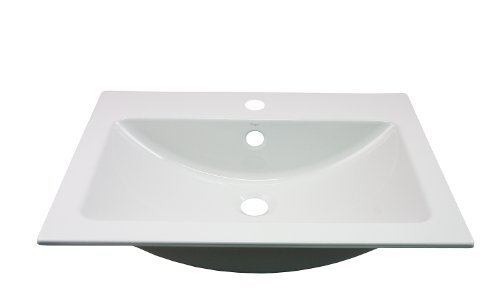 Price comparison product image Alape EB.R585H 2202000000 Inset Sink Rectangular White by Alape