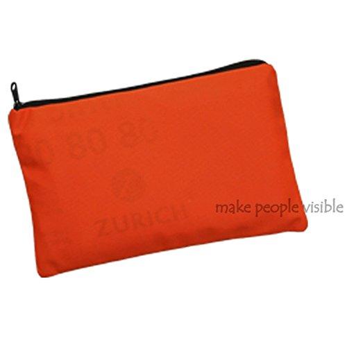 Orange Tofern Haute visibilit/é trafic r/éfl/échissant gilet de s/écurit/é pour la course /à v/élo randonn/ée conduite avec pochette