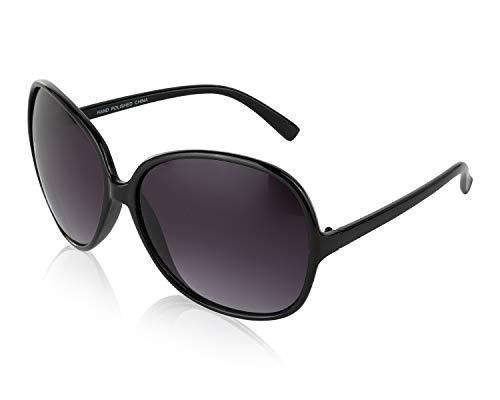 JACKIE OHH II Oversized Sunglasses Women/Men Square Butterfly Sun Glasses ()