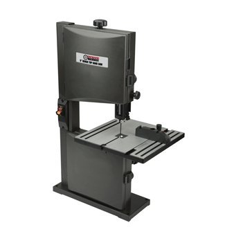 2.5 HP 2.5 Amp 9 Inch Bench Top Band Saw with Heavy Duty Cast Aluminum Table, Miter Gauge and Blade