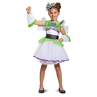 Buzz Tutu Deluxe Toy Story 4 Child Girls Costume, XS (3T-4T): Toys & Games